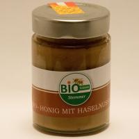 BIO-Honig mit Haselnussmus